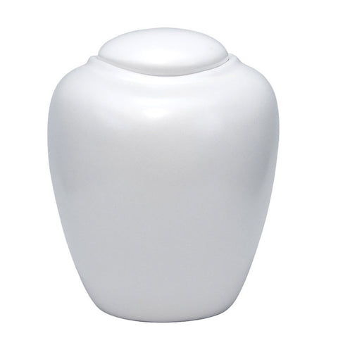 Pearl Biodegradable Cremation Urn - Large
