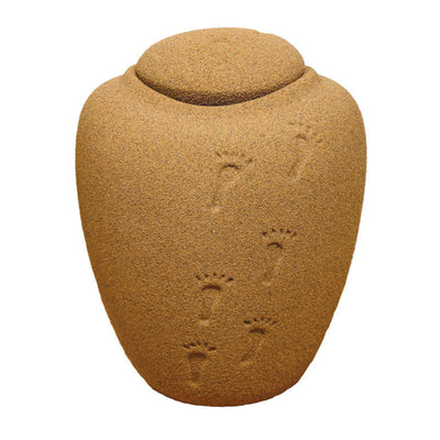 Sand Biodegradable Cremation Urn - Large