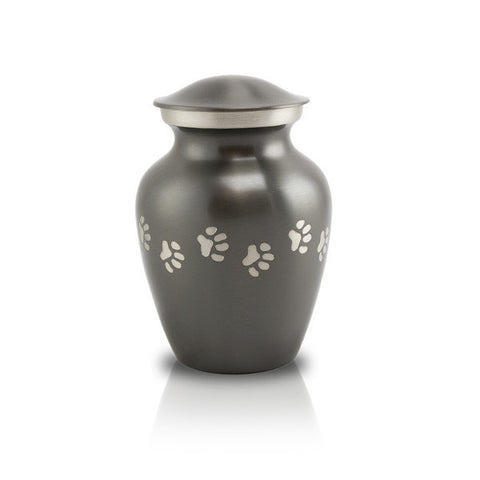 Slate Paw Cremation Urn - Extra Small