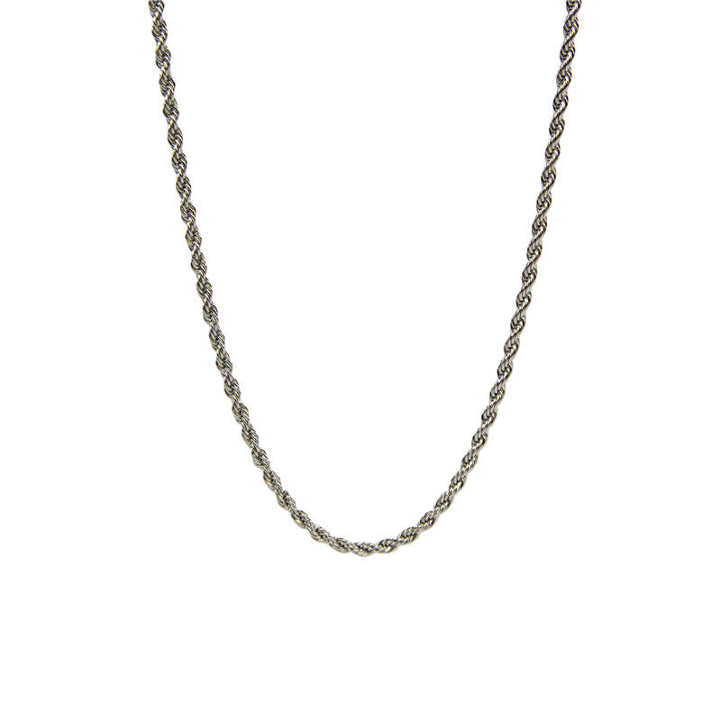 Stainless Steel Rope Chain - 20 Inches