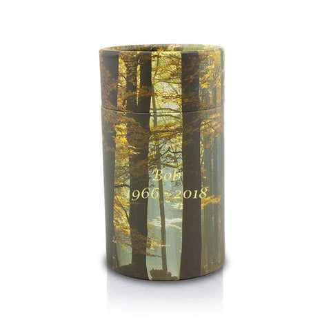 Autumn Woods Pet Scattering Tube