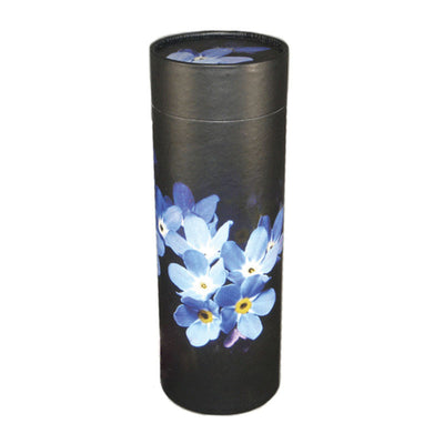 Forget Me Not Cremation Scattering Tube - Large