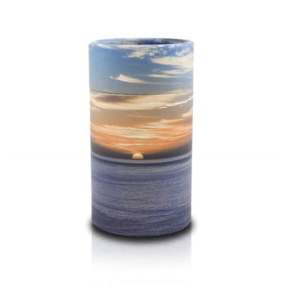 Ocean Sunset Pet Scattering Tube