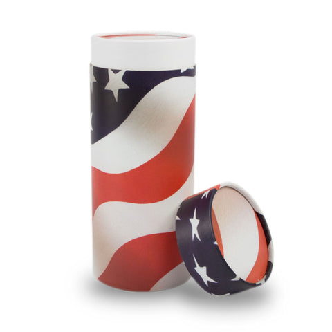 Patriot Scattering Cremation Urn- Large