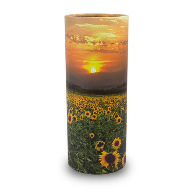 Sunflower Fields Scattering Tube- Large