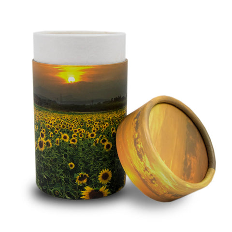 Sunflower Fields Scattering Tube- Mini