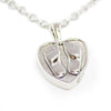 Baby Feet Cremation Necklace
