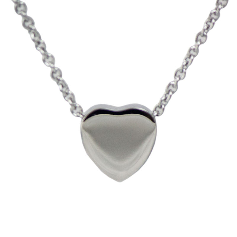 Stainless Steel Heart Cremation Pendant