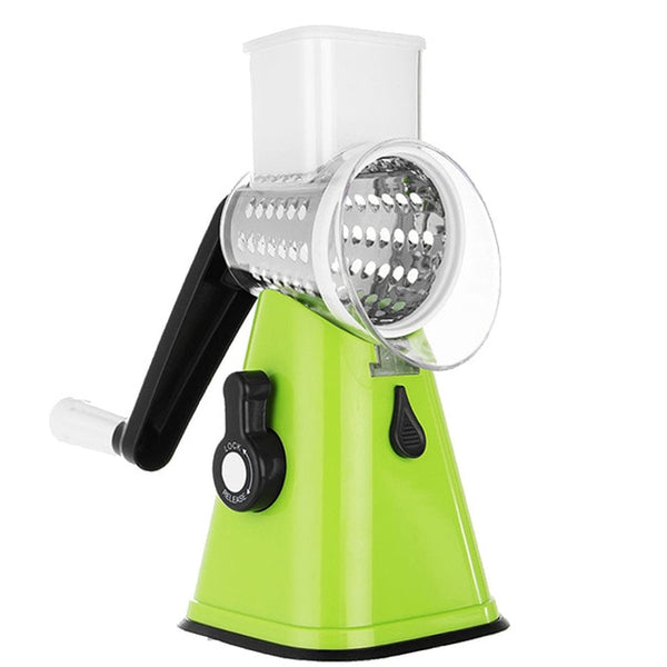 Rotary Vegetable Slicer Nuts Grinder Cheese Shredder