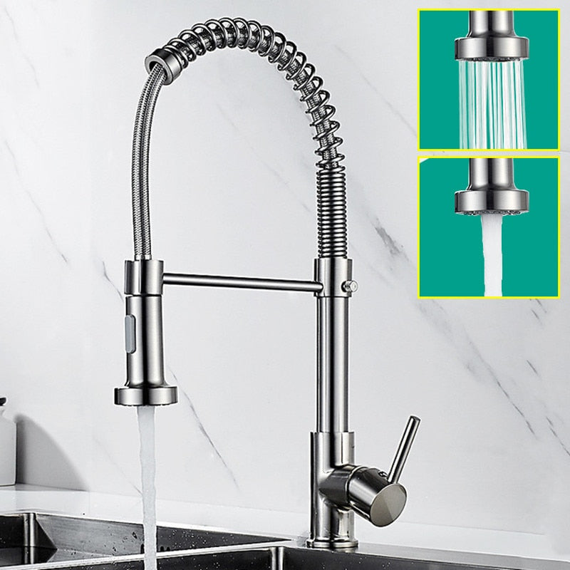 Brushed Kitchen  Faucets