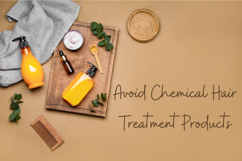 Hair treatment with ayurveda