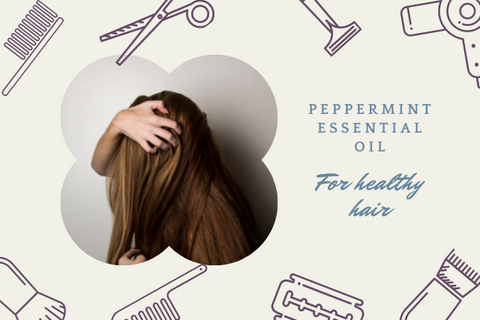 peppermint essential oil for healthy hair