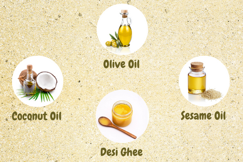 Baby oil with ayurvedic herbs
