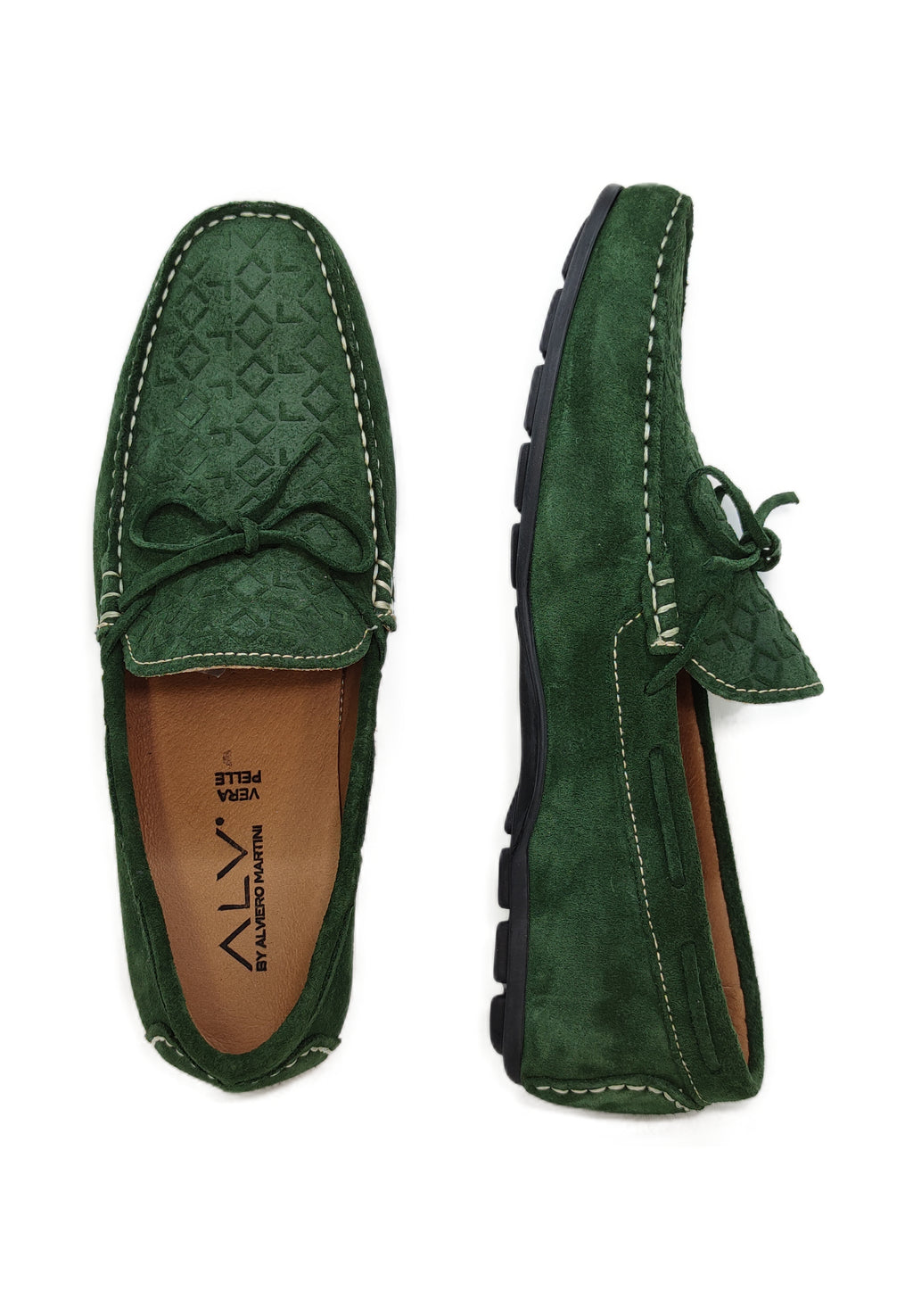 ALV205 GREEN - Mocassino uomo