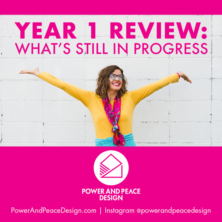 Year 1 Review: In Progress