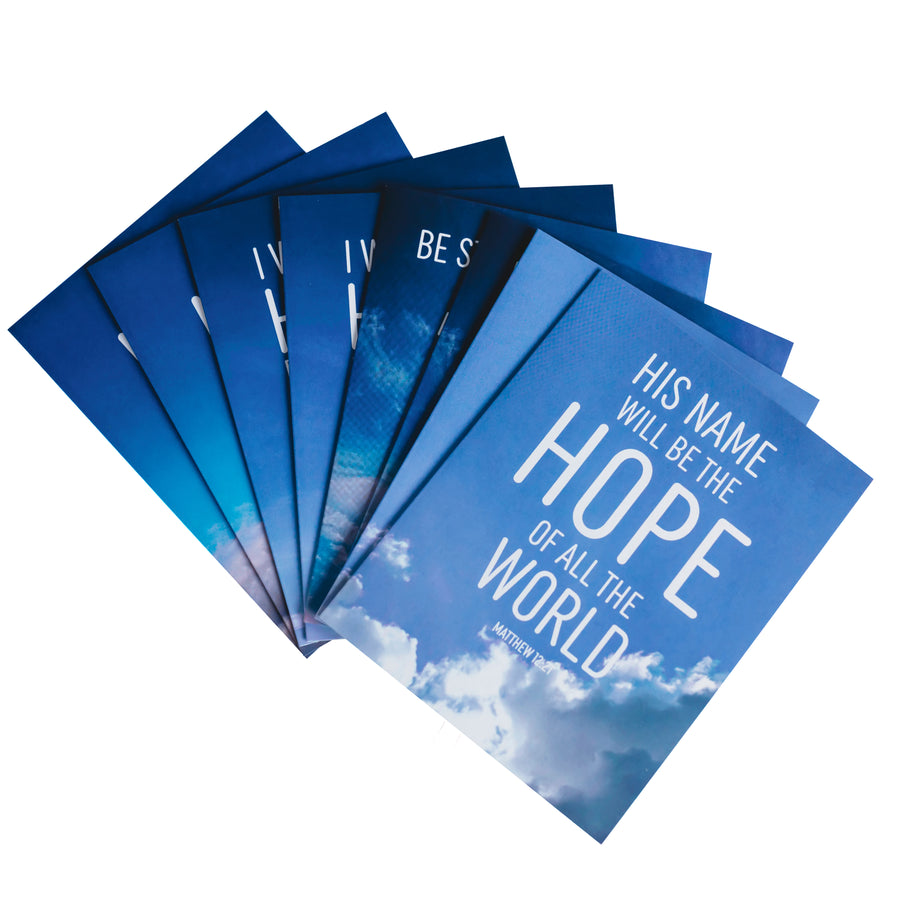Hope Bible verse notecards