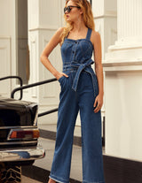 MARYLING Washed Denim Jumpsuits