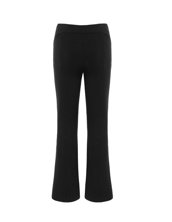 MARYLING Classic Slim Fit Bell Bottom Suit Trousers