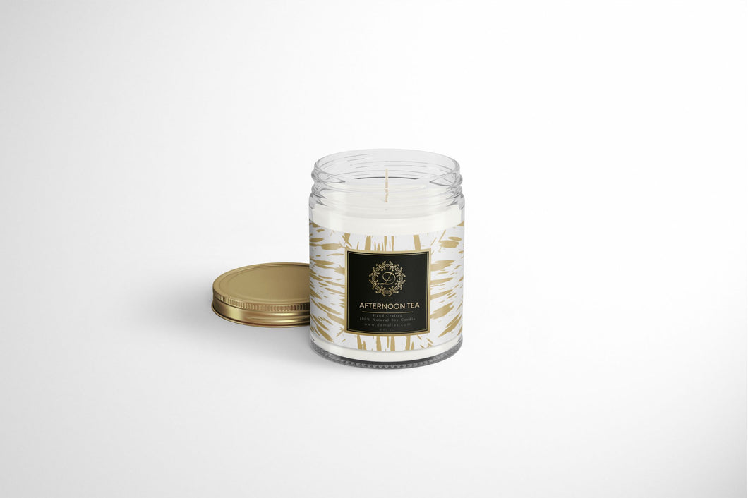 Afternoon Tea 8oz. Scented Soy Candle