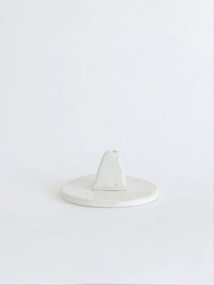 Open image in slideshow, Sir. Ramics Triangle & Dish Incense Holder