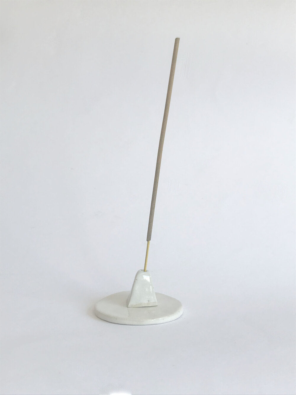 Sir. Ramics Triangle & Dish Incense Holder