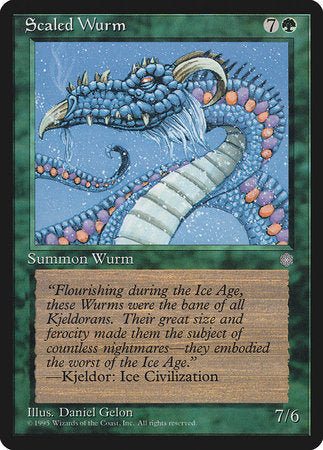 Scaled Wurm [Ice Age] | Tier 1 Games
