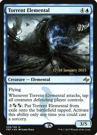 Torrent Elemental [Fate Reforged Promos] | Tier 1 Games
