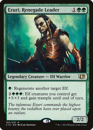 Ezuri, Renegade Leader [Commander 2014] | Tier 1 Games