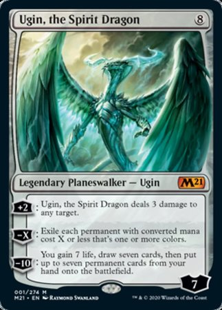 Ugin, the Spirit Dragon [Core Set 2021] | Tier 1 Games