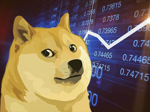 Picture of Dogecoin Cryptocurrency Rise - shiba inu - Dogecoin merch store - Royal Doge