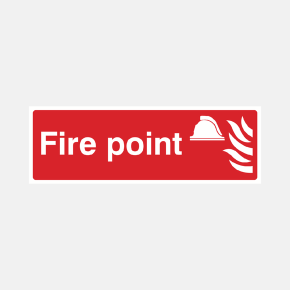 Fire Point Sign Raymac Signs