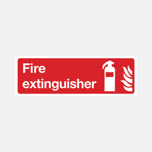 Fire Extinguisher Sign Raymac Signs