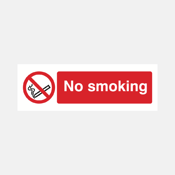 No Smoking Sign Raymac Signs