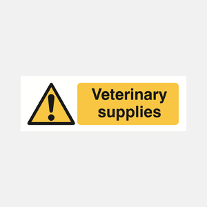 Veterinary Supplies Sign Raymac Signs