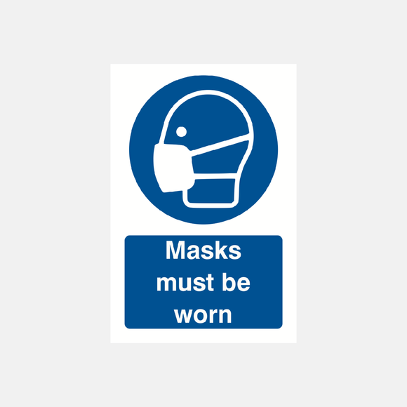 Masks Must Be Worn Sign Raymac Signs
