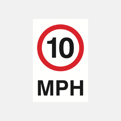Speed Awareness Signs