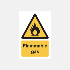 Flammable Gases Sign Raymac Signs