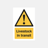 Livestock In Transit Sign Raymac Signs