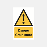 Danger Grain Store Sign Raymac Signs