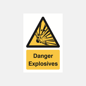 Danger Explosives Sign Raymac Signs