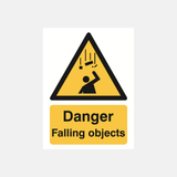 Danger Falling Objects Sign Raymac Signs