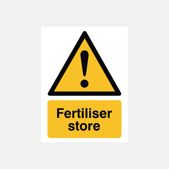 Fertiliser Store Sign Raymac Signs