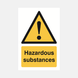 Hazardous Substances Sign Raymac Signs