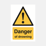 Danger Of Drowning Sign Raymac Signs