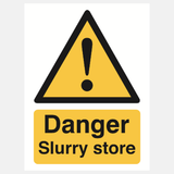Danger slurry store sign Raymac Signs