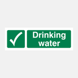 Drinking Water Sign Raymac Signs
