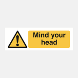 Mind Your Head Sign Raymac Signs