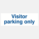 Visitor Parking Only Sign Raymac Signs
