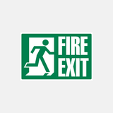 Fire Exit Sign Medium Size Raymac Signs
