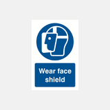 Wear Face Shield Sign Raymac Signs